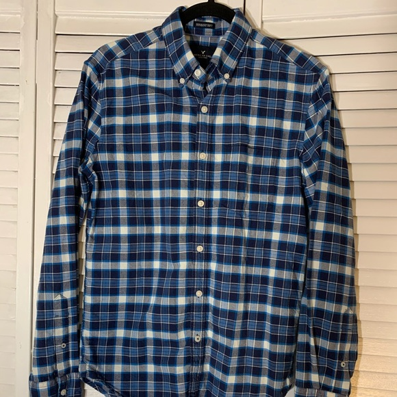 American Eagle Outfitters Other - American Eagle Men's Flannel Button Down XS